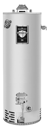 BBradford White RG250T6N 50 Gallon Tall Atmospheric Vent Water Heater Natural Gas